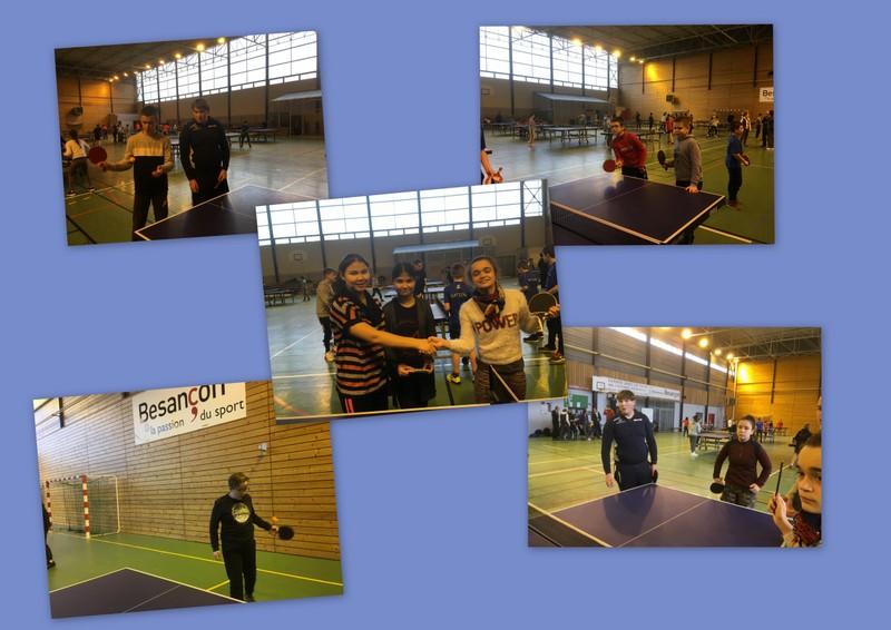 Tennis de table 23 janv