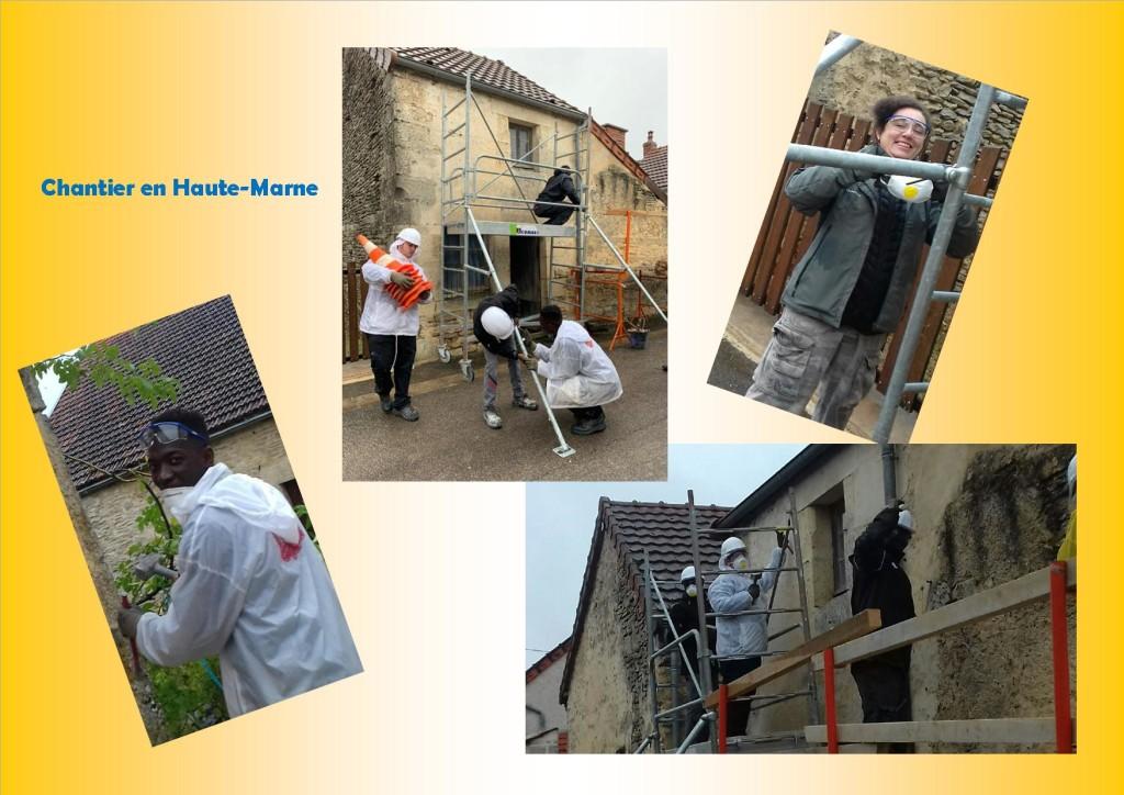 Maçons Chantier en Haute Marne Oct 2019